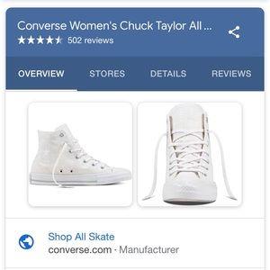 NWT w  Sz 11 Converse All Star Chuck Taylor white
